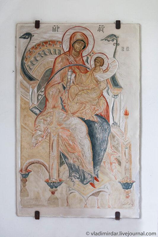 Панахранта. Икона Божией Матери «Всецарица» в храме Преображения усадьбы Остров