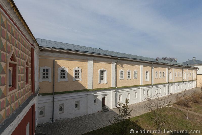 Братский корпус (XVI-XIX вв.). Ипатьевский монастырь. Кострома.
