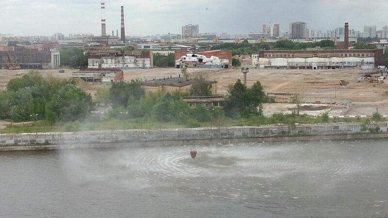 Завод ЗИЛ - пожар