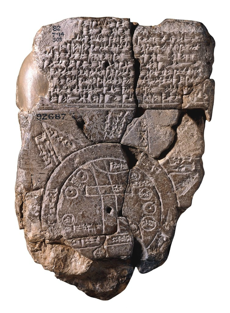 "The oldest map in the world "" Babylonian Imago Mundi "".jpg"