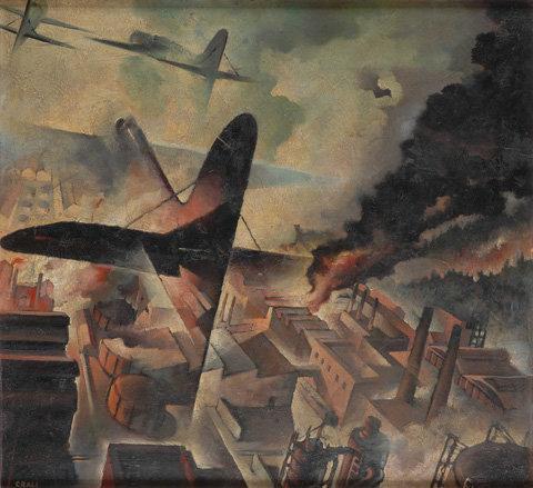 Bombardamento di una fabrica - 1938.jpg