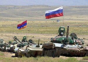 Россия проведет учения своих войск в Армении
