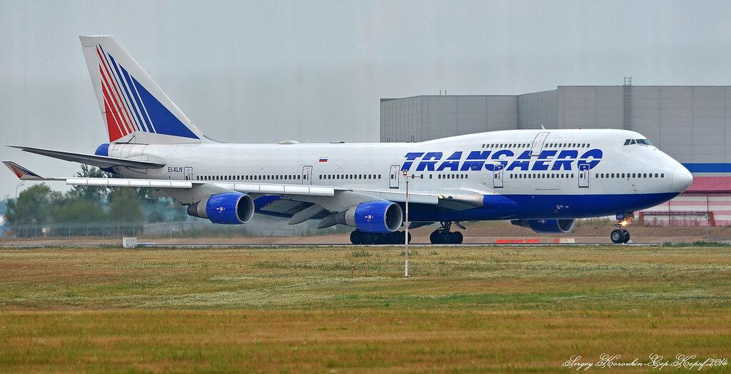 Boeing 747-412 Transaero EI-XLN