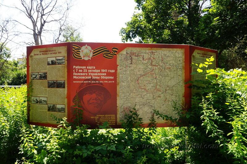 Карта зоны обороны, Обнинск
