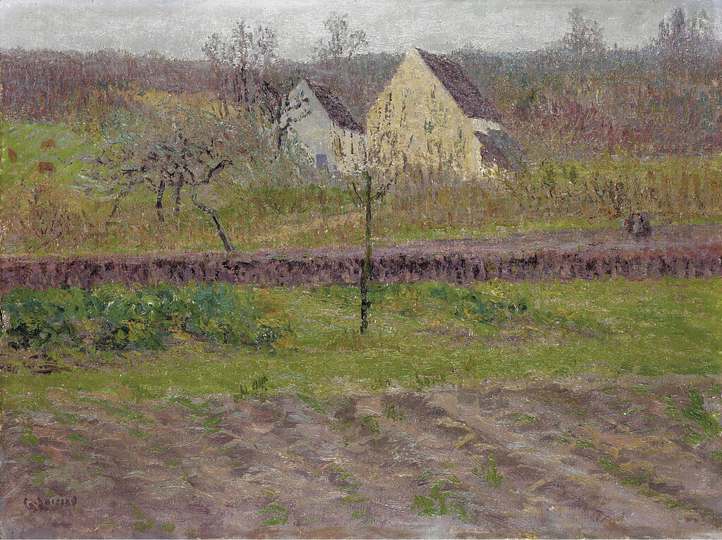 Gustave Loiseau - Orchard in Autumn, 1898.jpeg