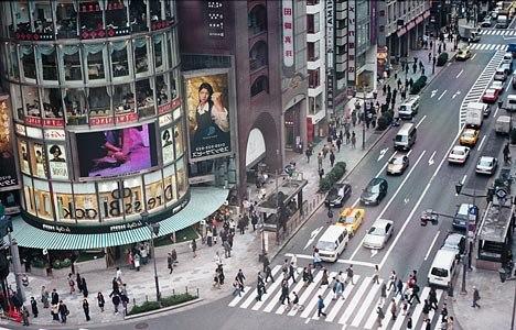 Главные торговые центры и районы Токио