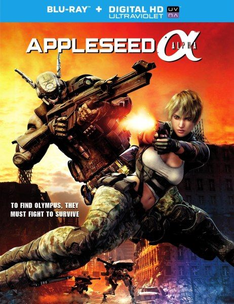 Проект Альфа / Appleseed Alpha (2014/BDRip/HDRip)