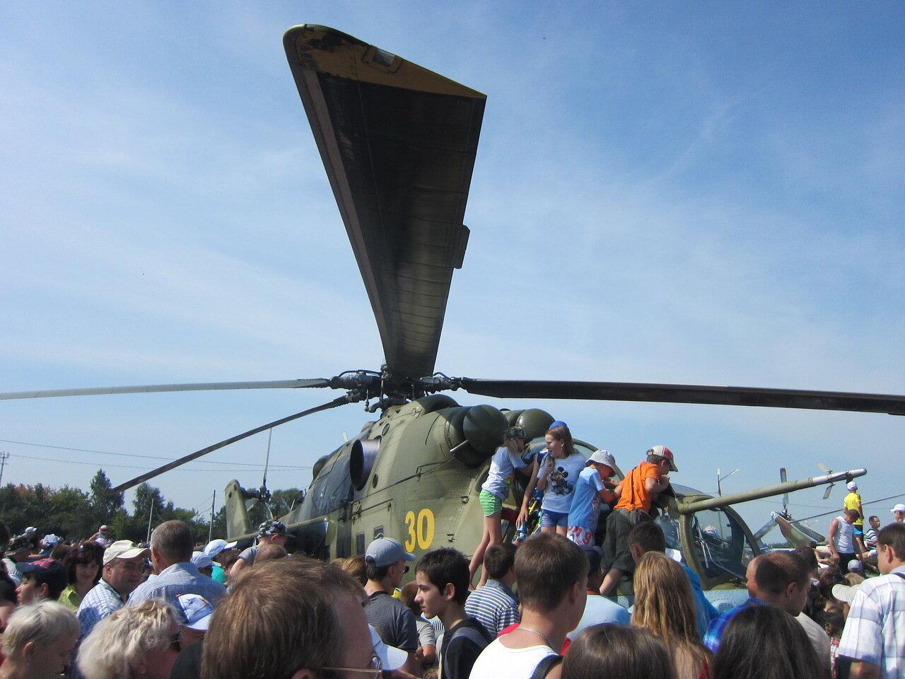 Ми-24 - один из самых популярных боевых вертолётов в мире (15.08.2014)