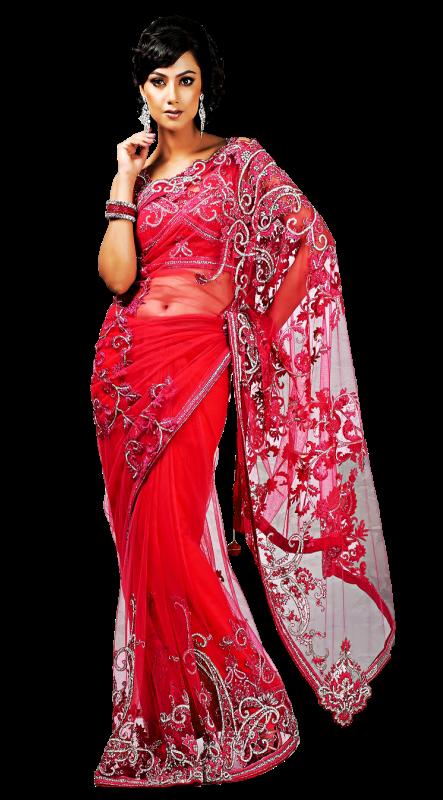Индийский национальный костюм.
