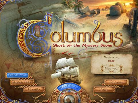 Колумб: Призрак таинственного камня   Columbus: Ghost of the Mystery Stone (Rus)
