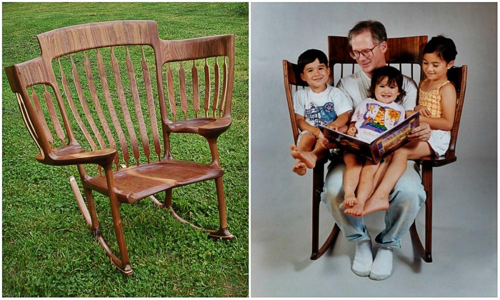 Срождением третьего ребенка Хэлу Тейлору стало неудобно читать детям сказки всвоем обычном кресле.