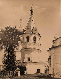 Вид на колокольню в Желтиковом монастыре. Тверь г., близ Твери