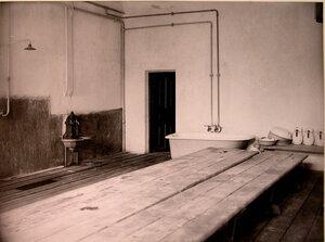Вид части помещения бани в доме призрения для увечных воинов.