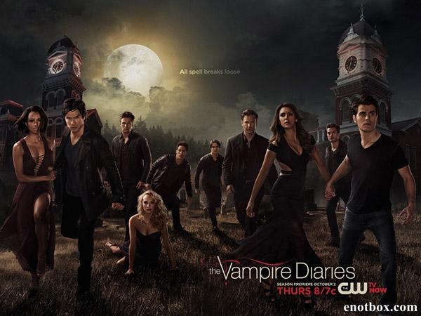 Дневники вампира / The Vampire Diaries - Полный 6 сезон [2014, WEB-DLRip | WEB-DL 1080p] (LostFilm)