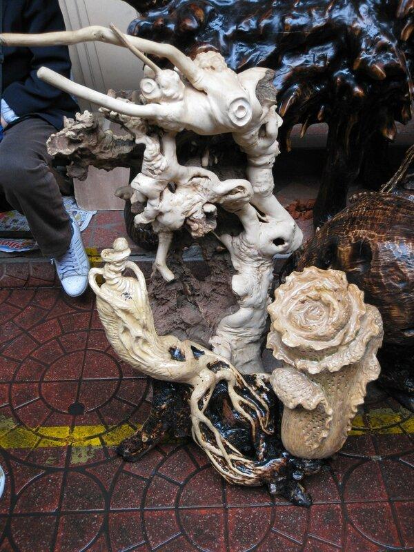 Резьба, рынок Паньцзяюань, Пекин