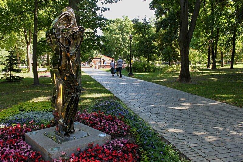 парковая скульптура киев парк шевченко