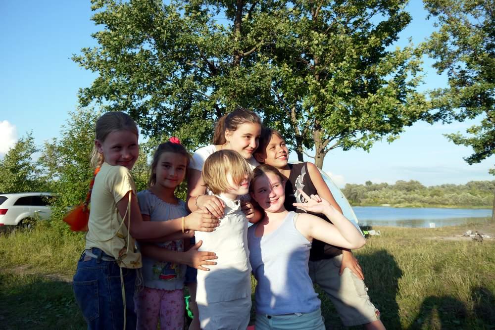 Детский поход на устье Илети
