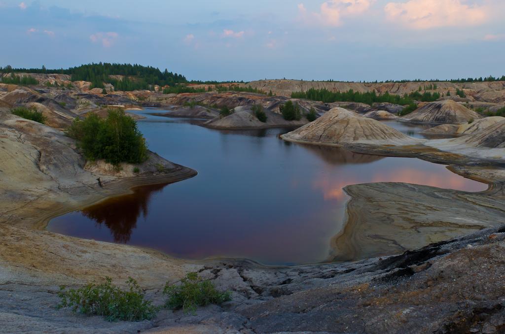 Фотография 4. Достопримечательности Свердловской области. Семицветные озерки. Пример снимка на Nikon D5100 с зумом Nikon 17-55mm f/2.8.