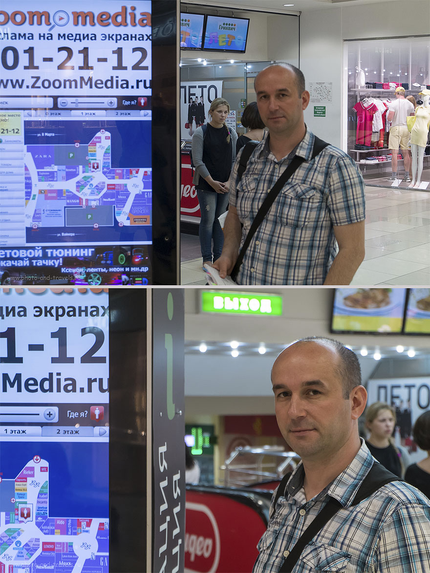 Фотография 3. При наличии более контрастного объекта, камера сфокусируется на нем. Камера со сменными объективами Fujifilm X-M1? Поднять ISO. (параметры съемки верхнего фото: ИСО 1000, ФР-37.1, f/6.4, В=1/50 секунды; нижний снимок: ISO 2000, ФР=50мм, f=5.6, В=1/110 секунды)