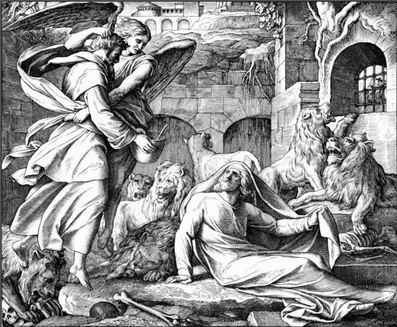 160 Даниил во львином рву и Аввакум.jpg