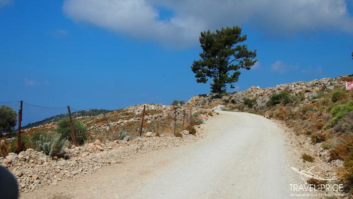 дорога в горах Турции