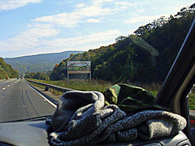 На дороге в горной местности .... SDC15607.JPG