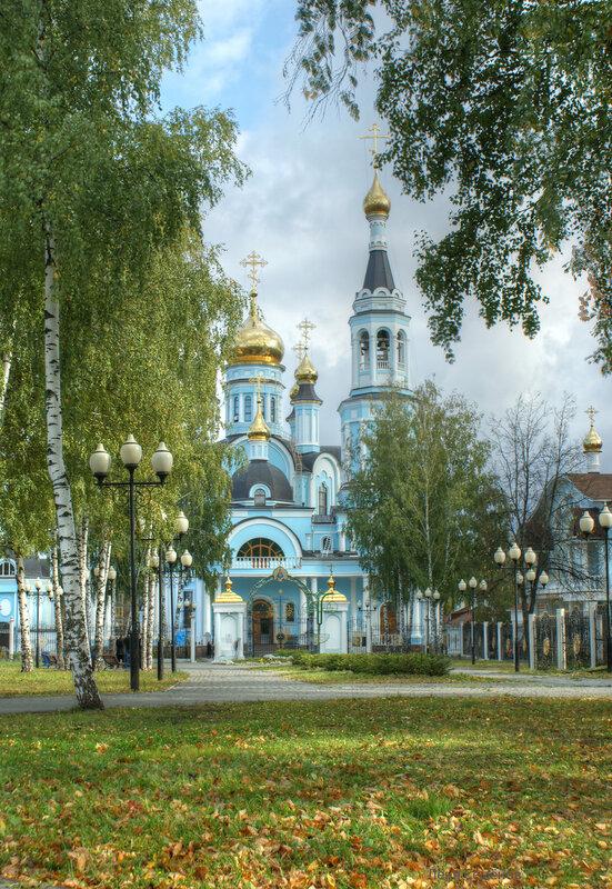 Осень. Покровско-Татианинский собор г. Чебоксары.