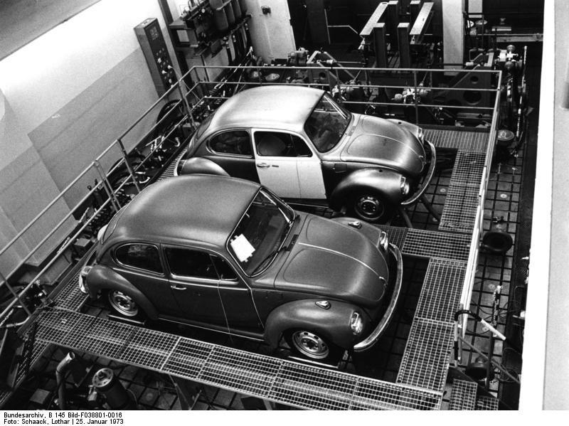 Wolfsburg, Volkswagen, VW Kдfer auf Prьfstand