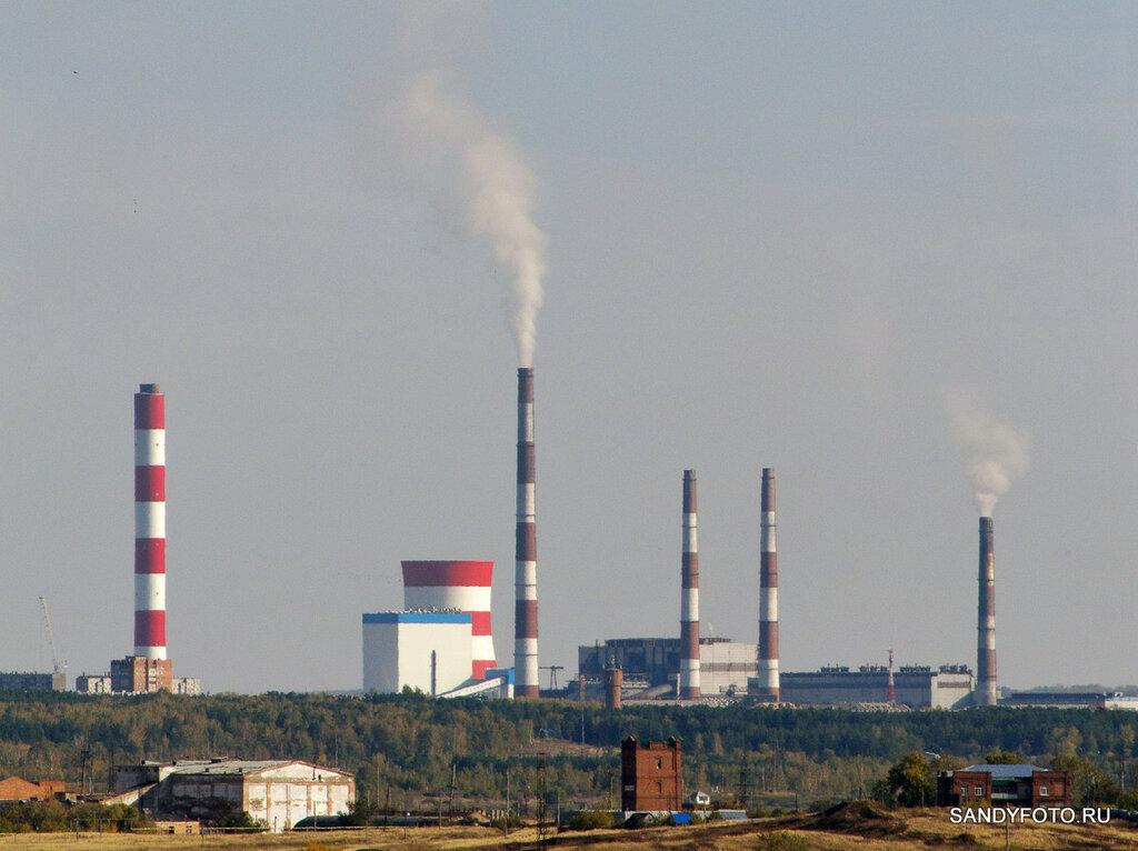 Троицкая ГРЭС — дымящие трубы #2 — необычный дым