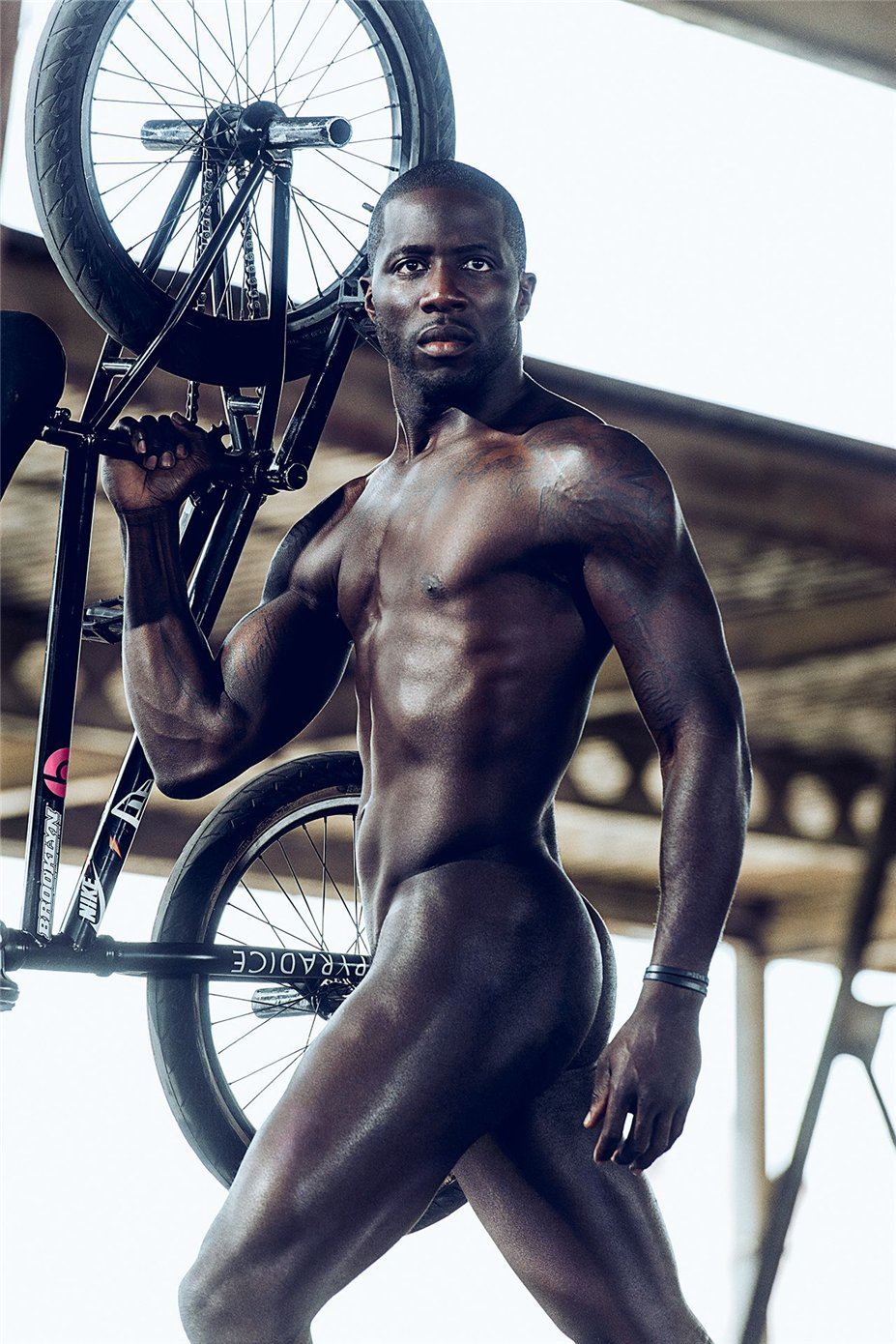 ESPN Magazine Body Issue 2014 - Nigel Sylvester / Найджел Сильвестр