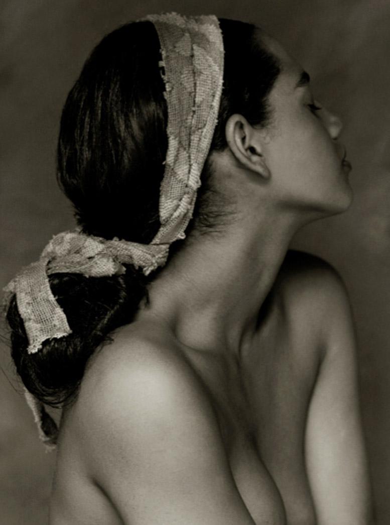 работа фотографа Альберта Уотсона / Nathalie - photo by Albert Watson