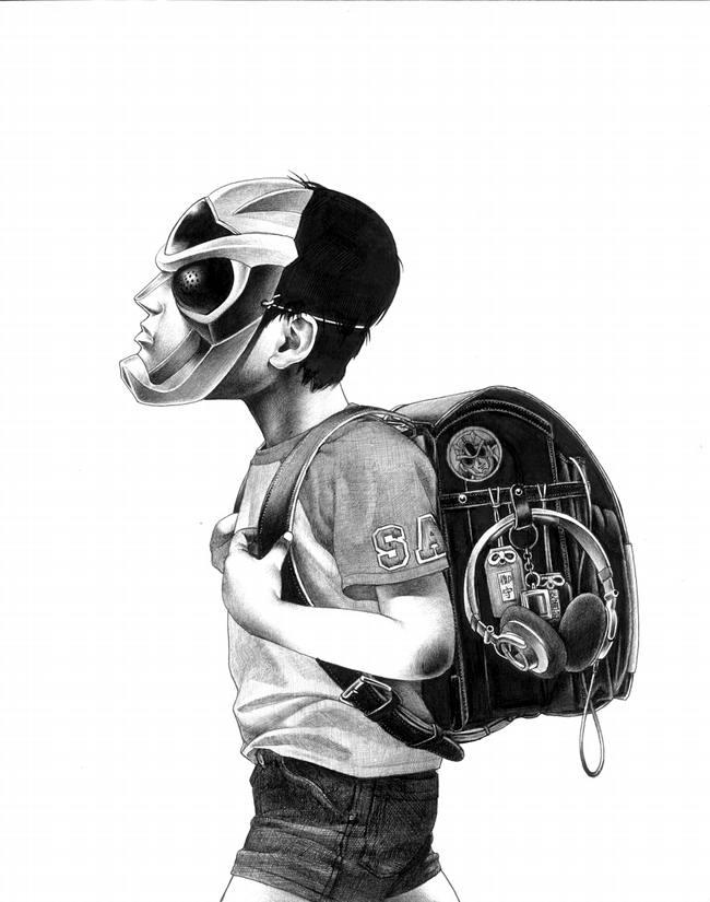 Сумасшедшие рисунки японского художника Shohei Otomo (11)