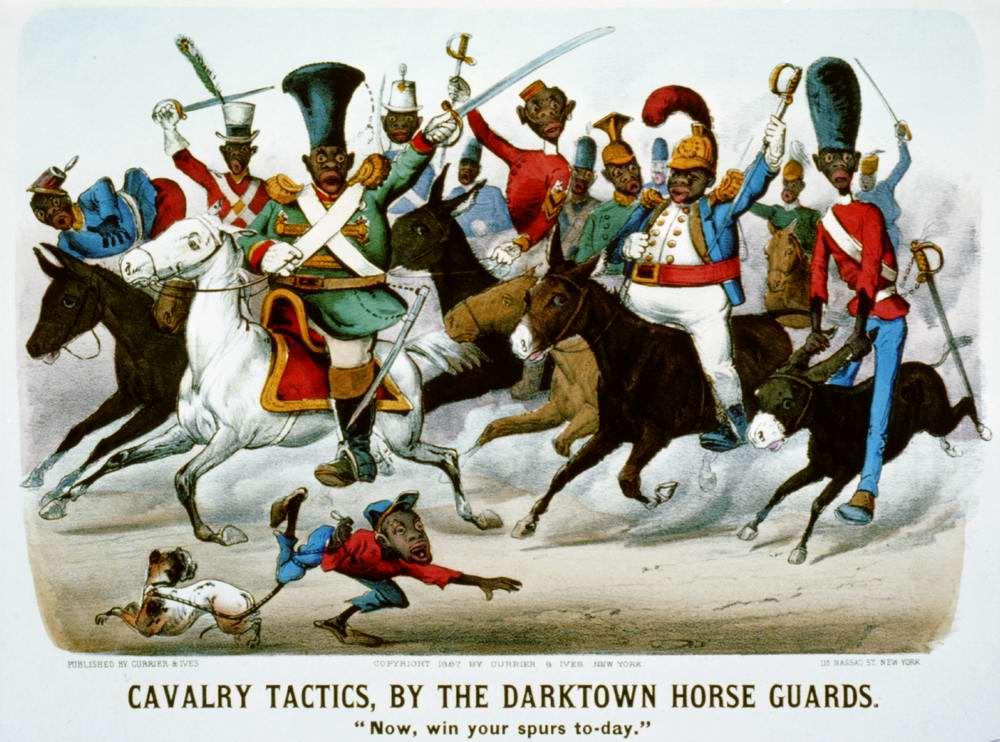 Кавалерийская тактика дарктаунской гвардии