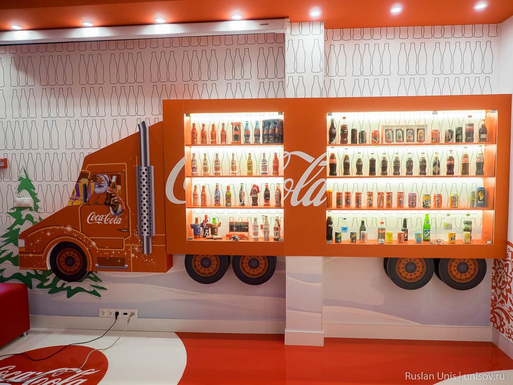 Завод Coca Cola в Петербурге