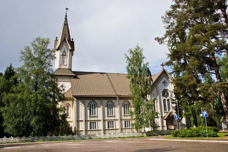 кирха в Ханкасалми (Hankasalmi)