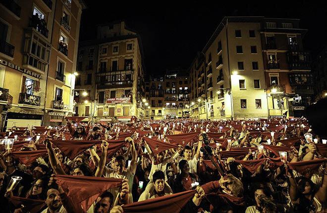 Фестиваль Сан-Фермин. Памплон, Испания