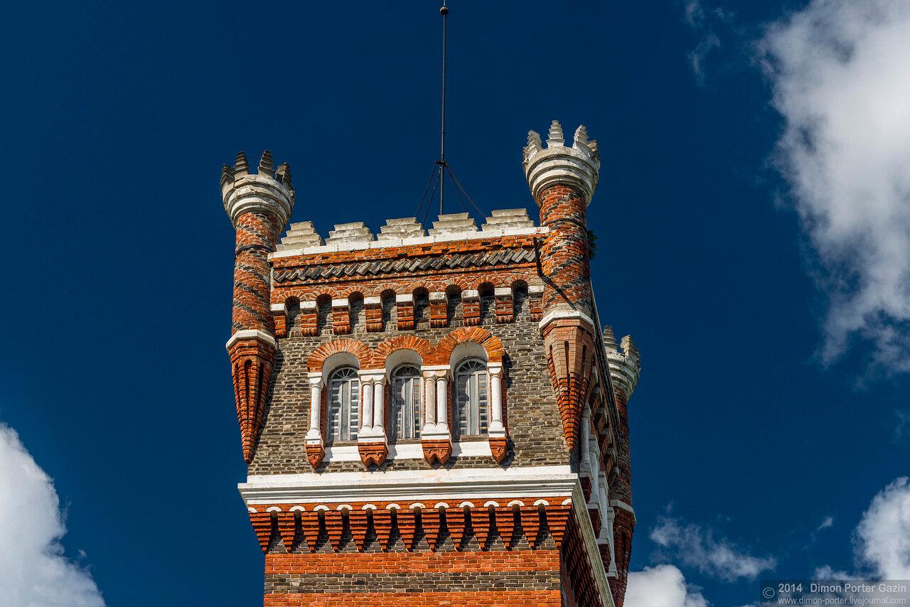 Юрино. Замок Шереметевых