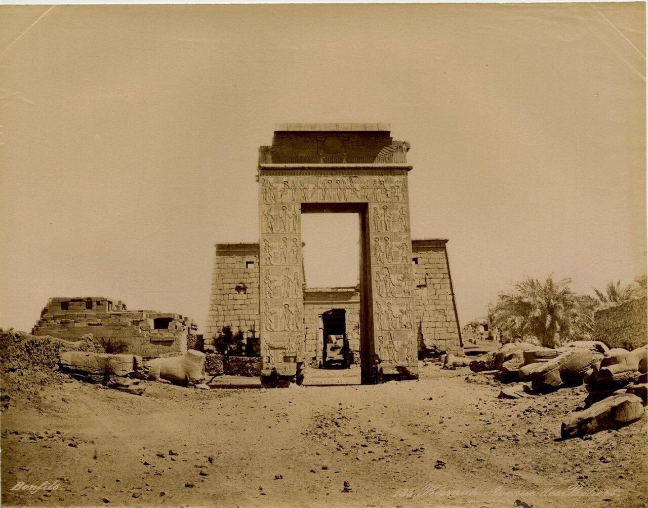 Карнак, Аллея Рамзеса. 1875