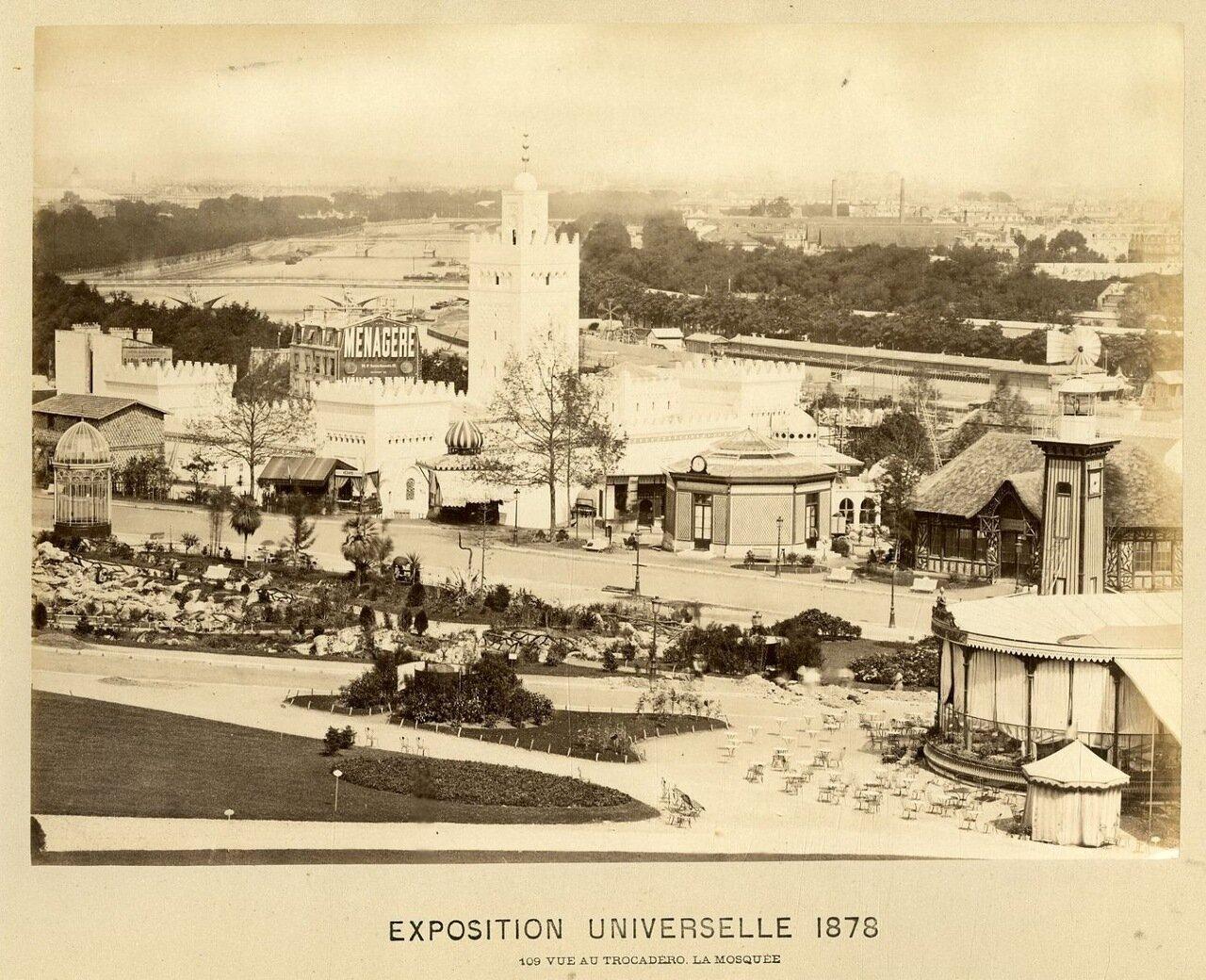 Вид на мечеть и Трокадеро