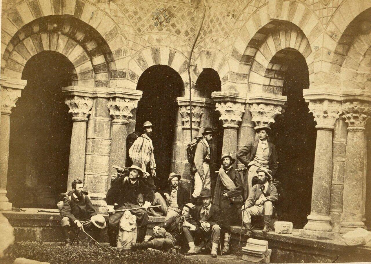 Портрет группы архитекторов. 1875.