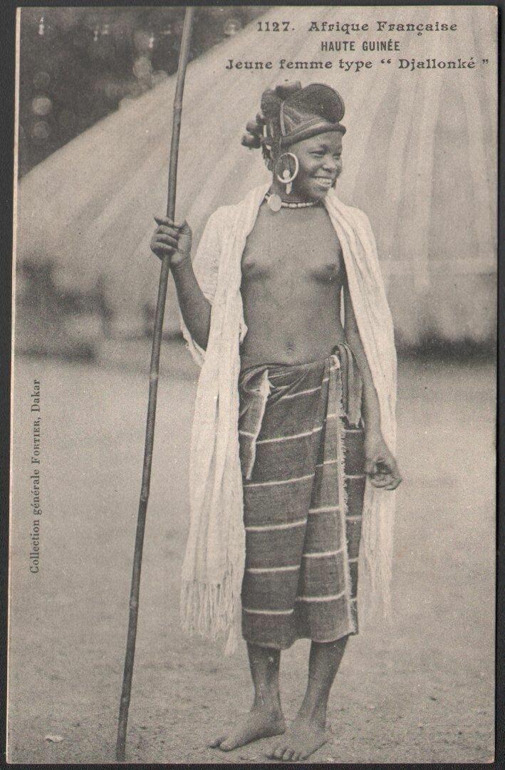 1127. Верхняя Гвинея. Девушка народа джалонке