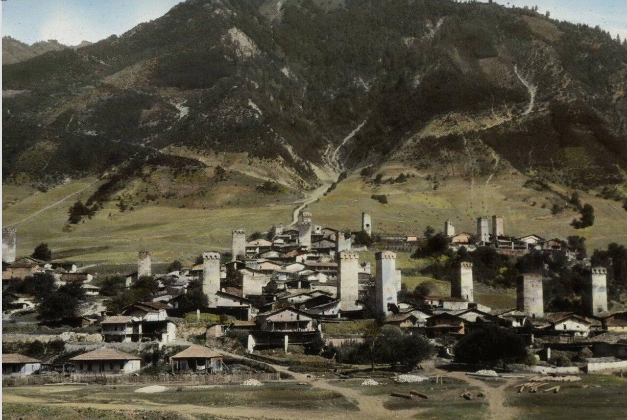 Деревня Местиа