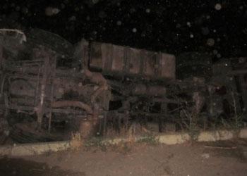 В Кагульском районе автопоезд столкнулся с фурой