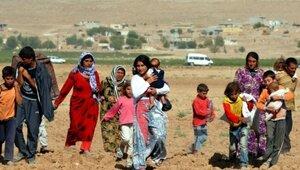 Сирийские беженцы спасаются в Турции