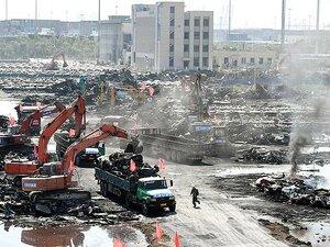 В Тяньцзине произошло четыре новых возгорания