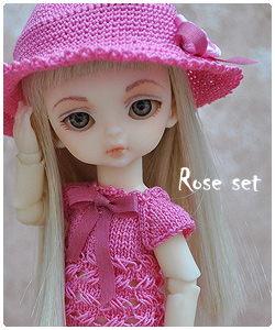 Rose outfit for Hujoo Baby
