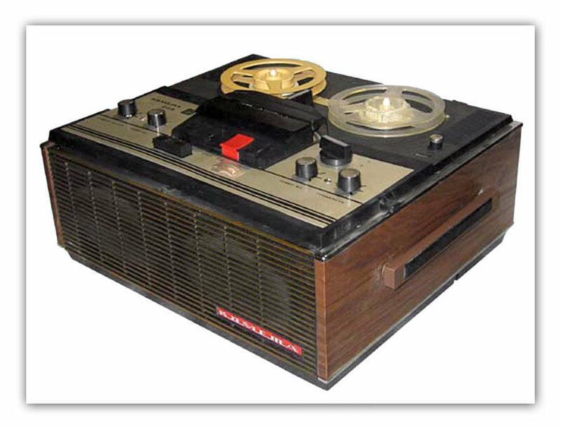 транзисторный магнитофон 2