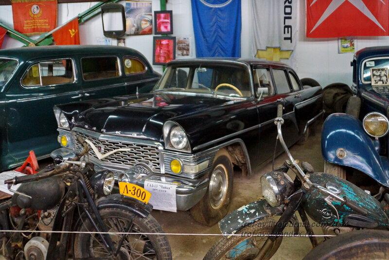 ГАЗ-13 Чайка, 1977 г. Ломаковский музей старинных автомобилей и мотоциклов, Москва