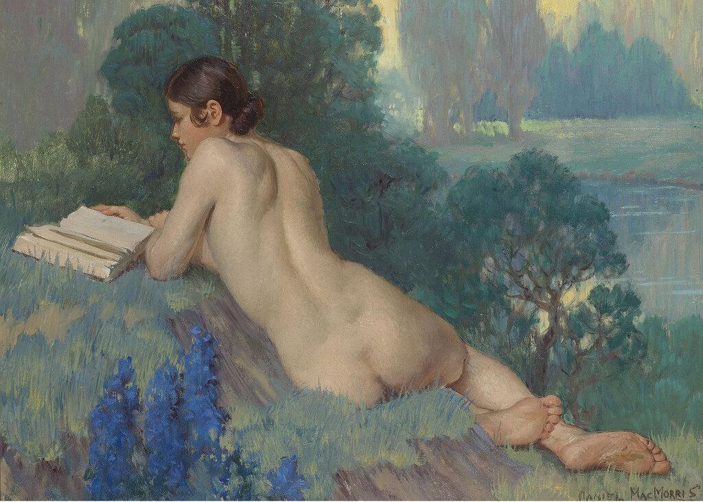 Daniel Macmorris - Nude Reading, 1933.jpeg