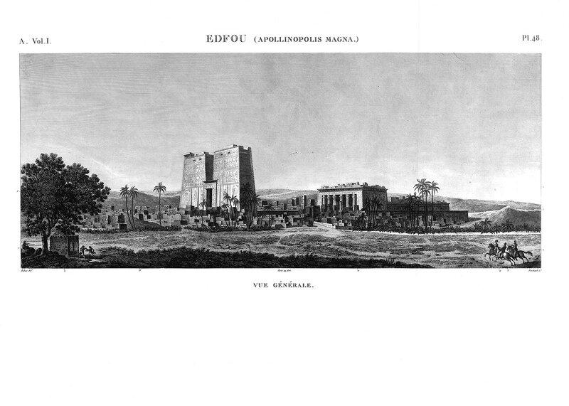 Храм Эдфу, общий вид ансамбля